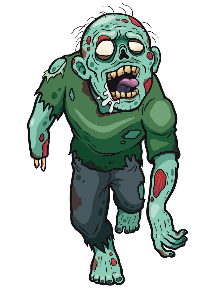 Free Zombie clipart image