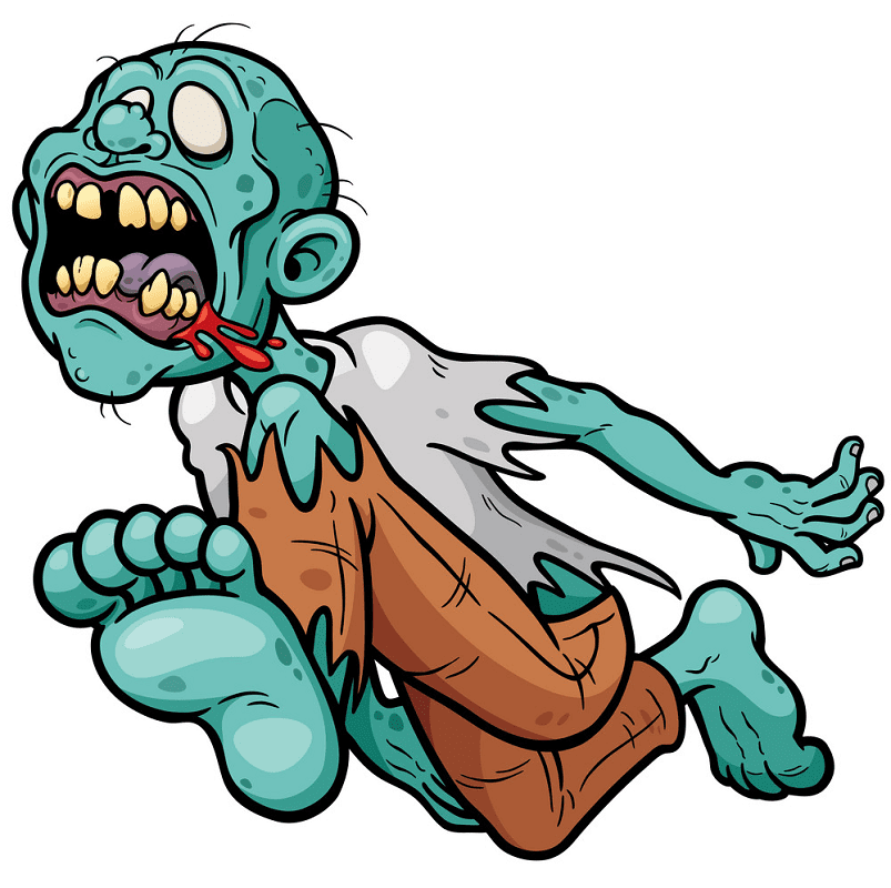 Free Zombie clipart images