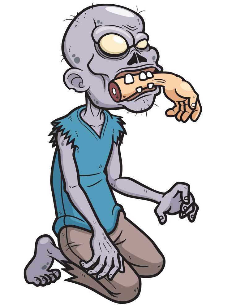 Free Zombie clipart png download