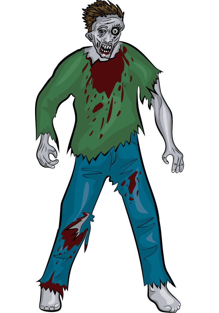 Free Zombie clipart png image