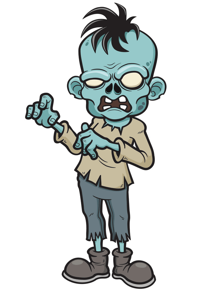 Free Zombie clipart png images