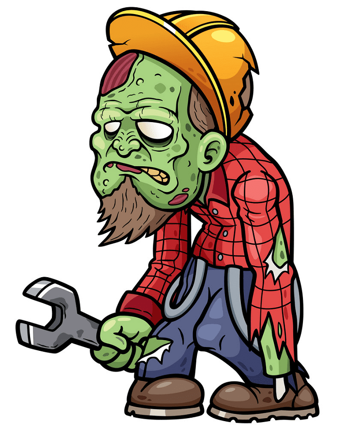 Free Zombie clipart png picture