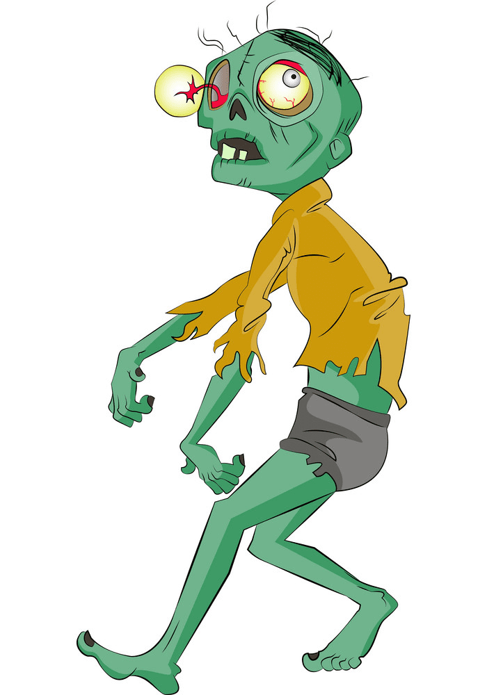 Free Zombie clipart png