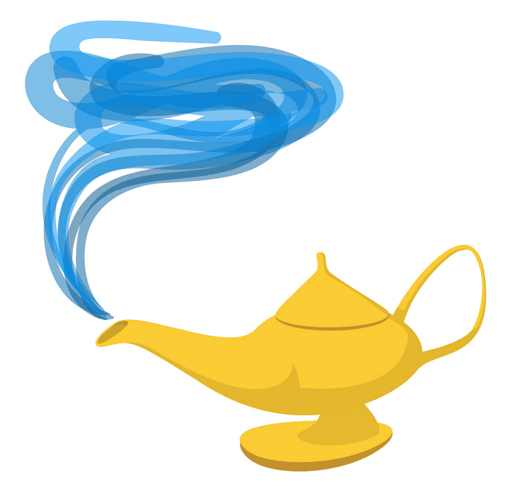 Genie Lamp clipart download