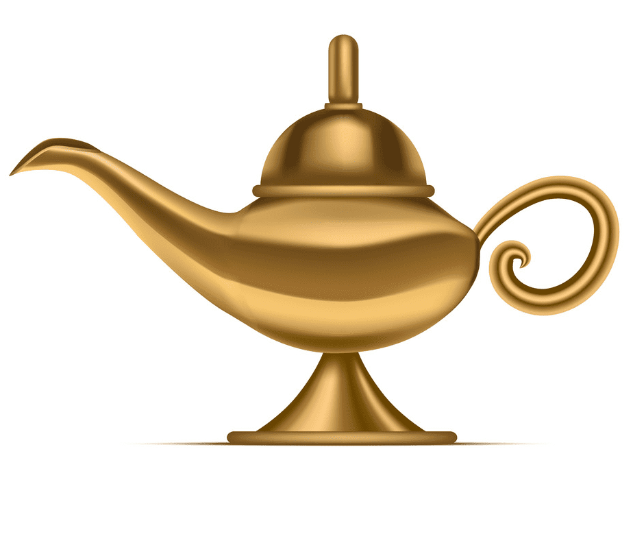 Genie Lamp clipart picture