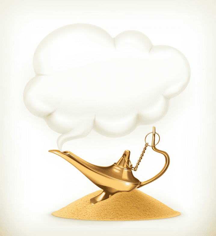 Genie Lamp clipart png free