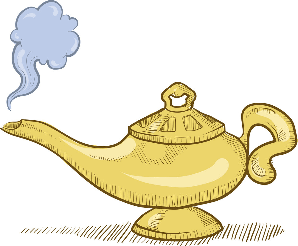 Genie Lamp clipart png image