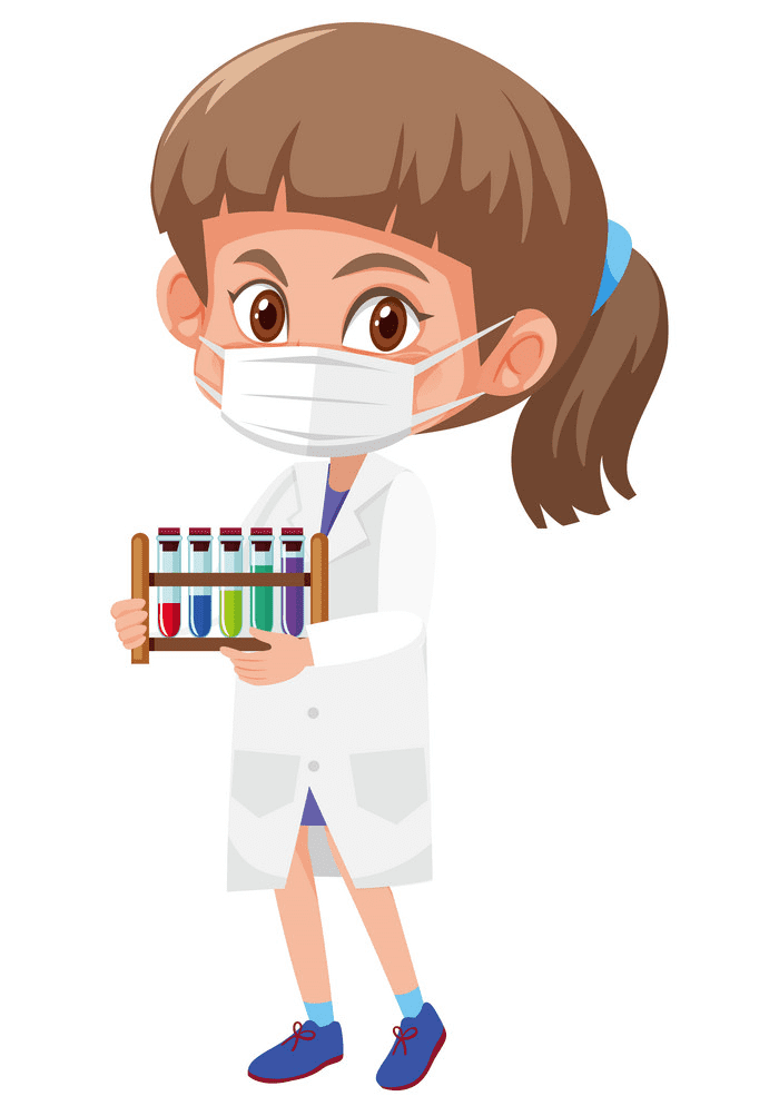 Girl Scientist clipart free images