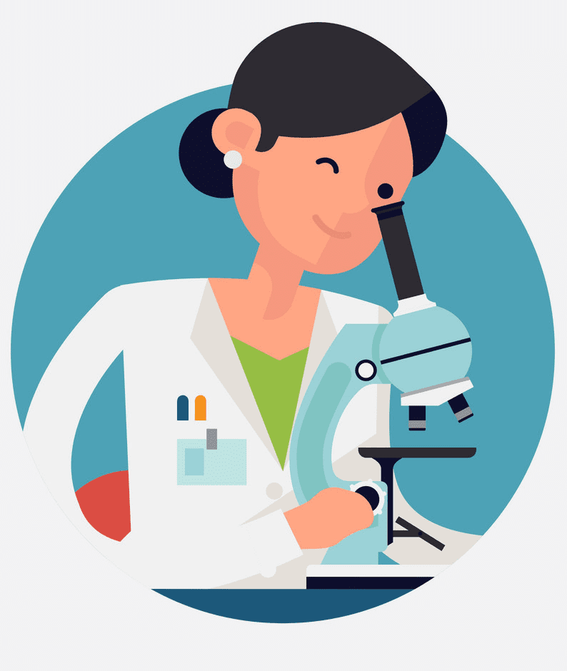 Girl Scientist clipart images
