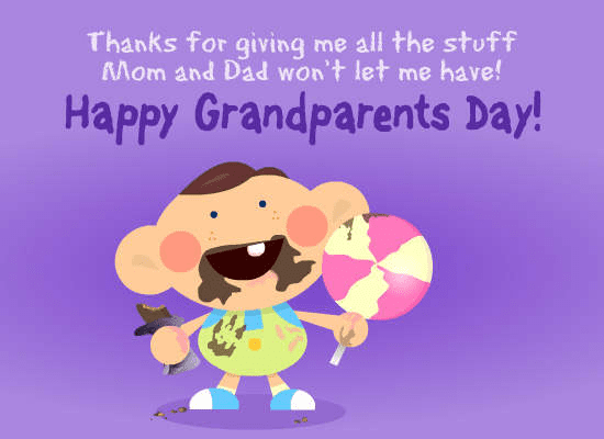 Grandparents' Day Wishes 1