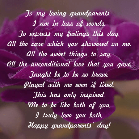 Grandparents' Day Wishes image