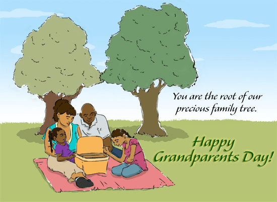 Grandparents' Day Wishes picture