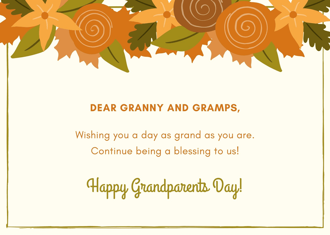 Grandparents' Day Wishes png 4