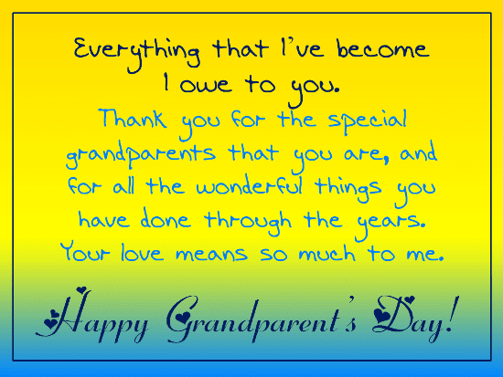 Grandparents' Day Wishes png 7