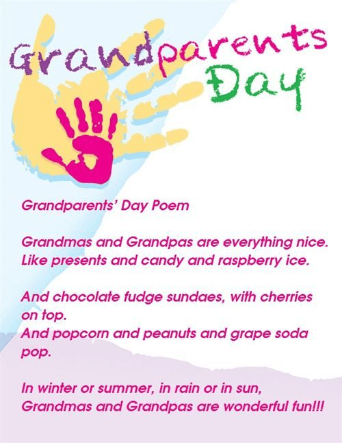 Grandparents' Day Wishes png 8