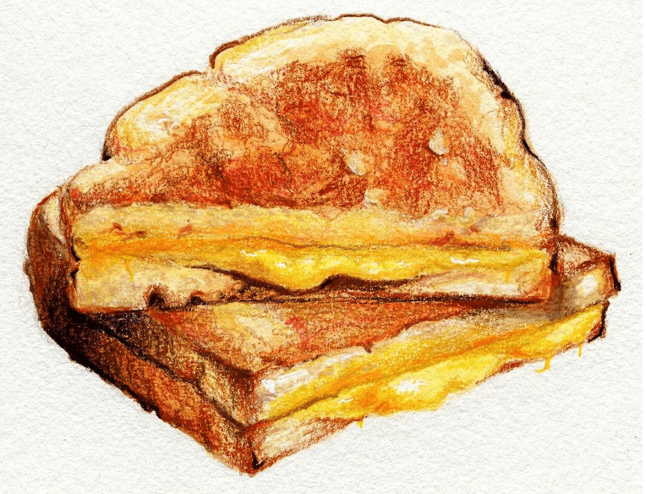 Grilled Cheese Sandwich clipart download