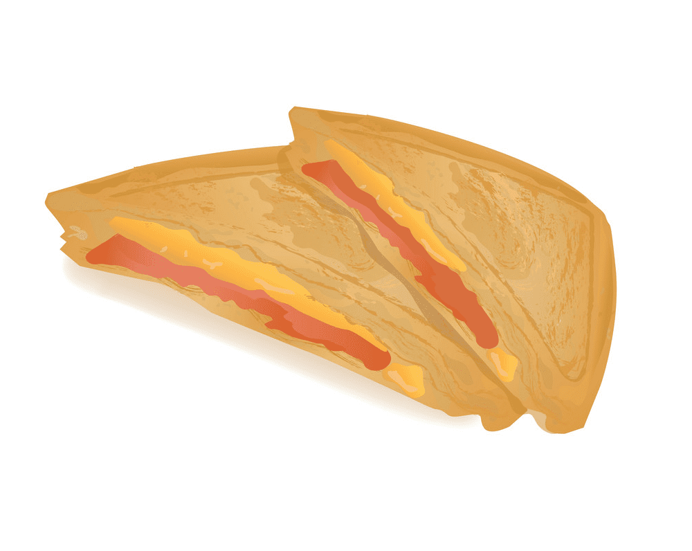 Grilled Cheese Sandwich clipart for free