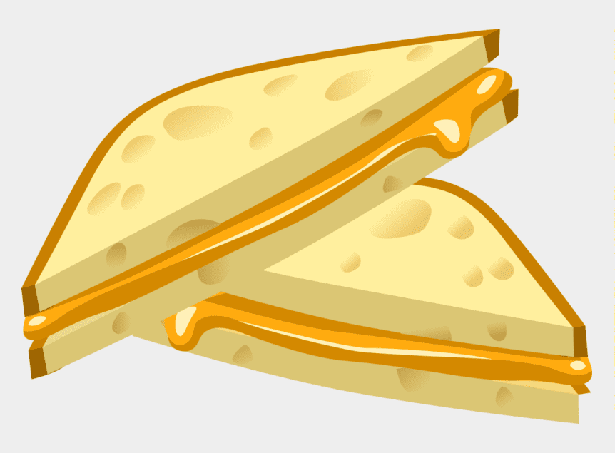 Grilled Cheese Sandwich clipart image