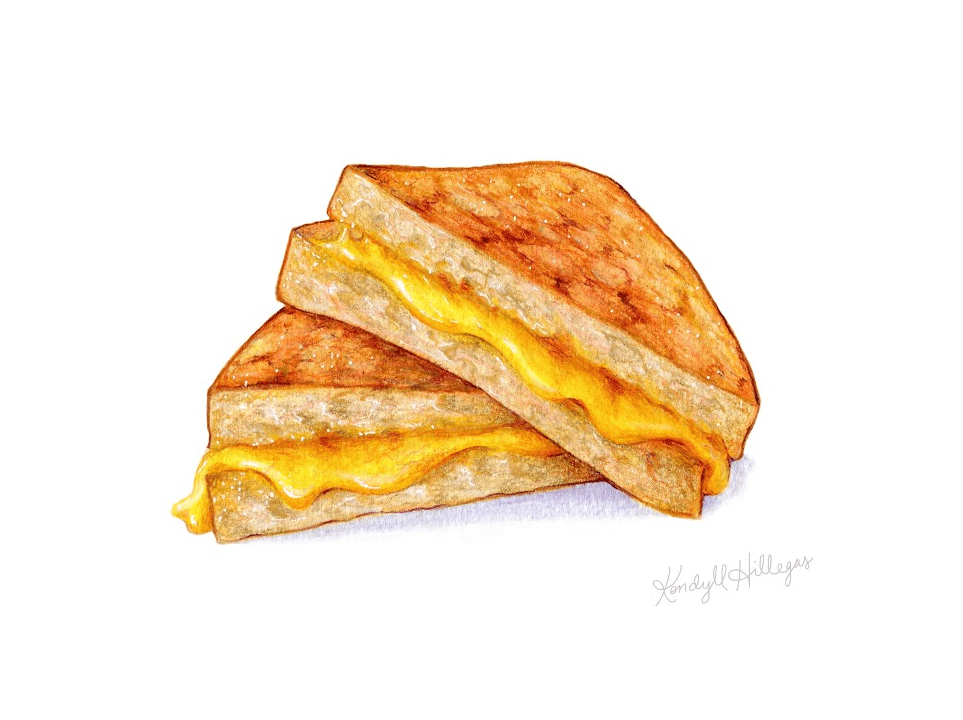 Grilled Cheese Sandwich clipart images