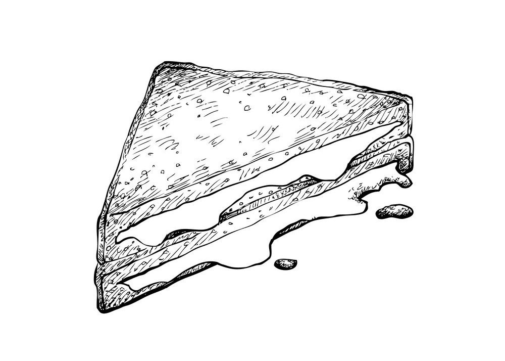 Grilled Cheese Sandwich clipart picture