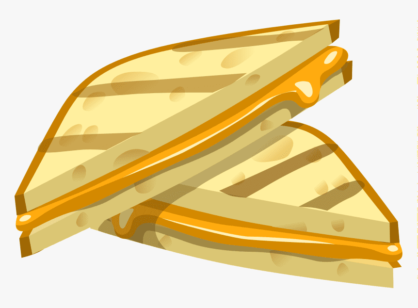Grilled Cheese Sandwich clipart png