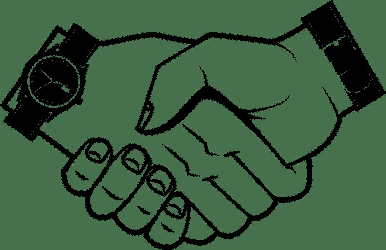 Handshack clipart transparent 2