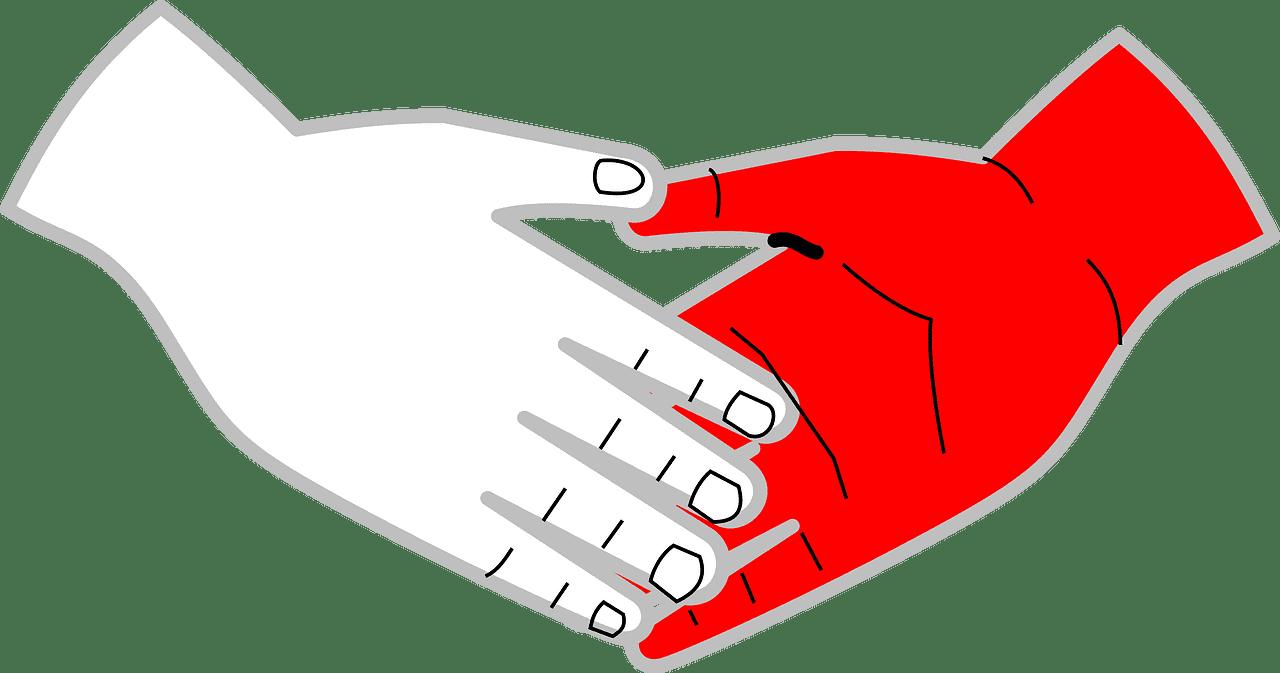 Handshack clipart transparent 8
