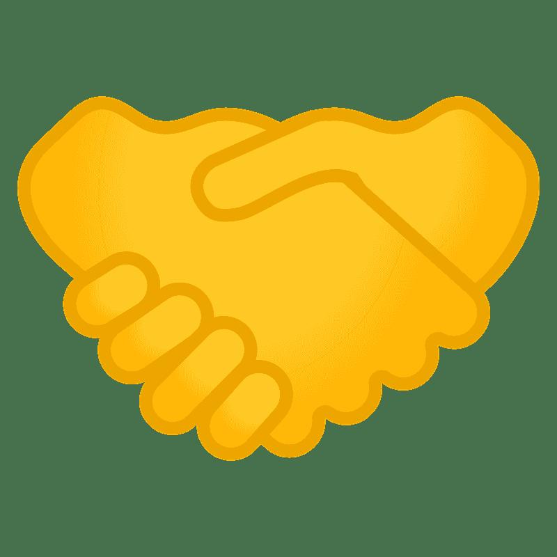 Handshack clipart transparent background 2