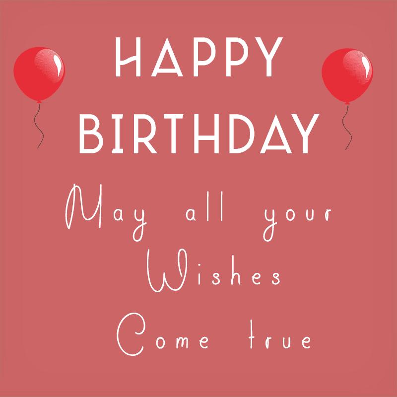 Happy Birthday Wishes 9