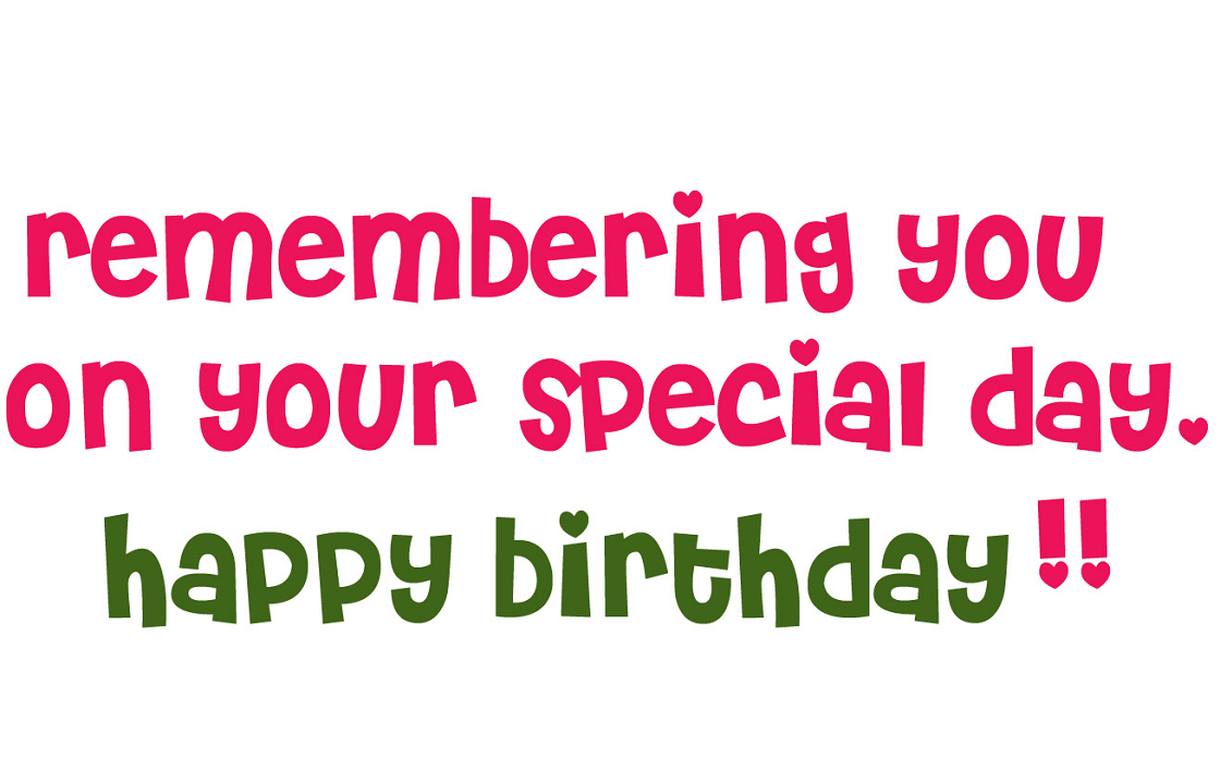 Happy Birthday Wishes clipart image