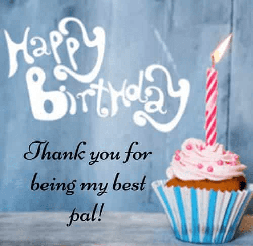 Happy Birthday Wishes for best pal