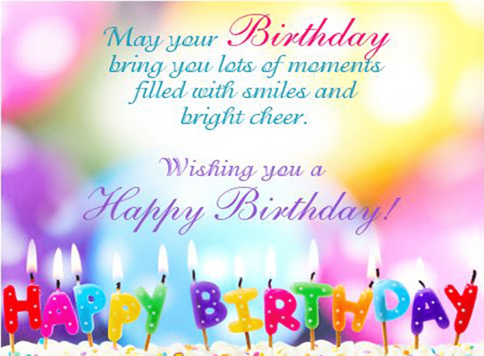 Happy Birthday Wishes free picture