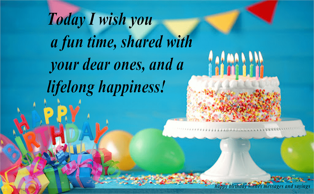 Happy Birthday Wishes image 11