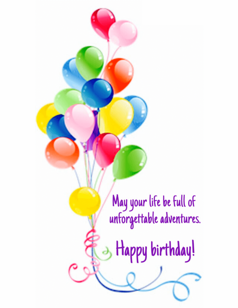 Happy Birthday Wishes png images