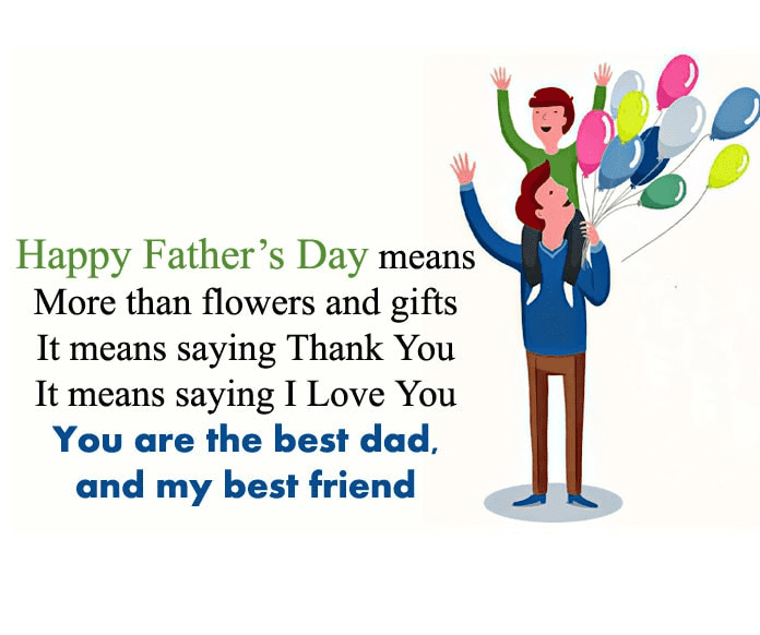 Happy Father's Day Wishes png 7