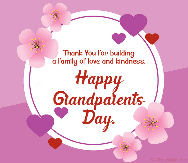Grandparents' Day Wishes
