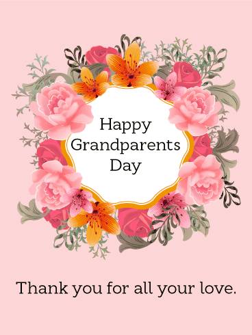 Happy Grandparents' Day Wishes 5