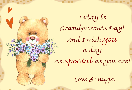 Happy Grandparents' Day Wishes 9