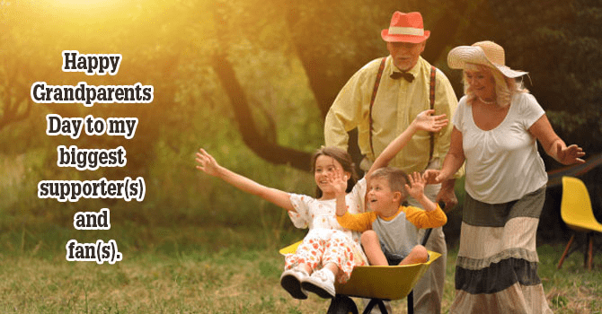 Happy Grandparents' Day Wishes image
