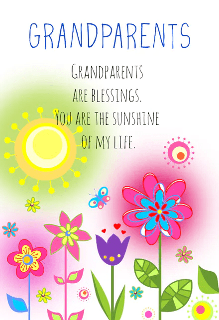 Happy Grandparents' Day Wishes images 6