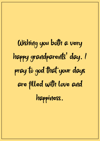 Happy Grandparents' Day Wishes images 7
