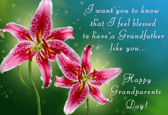 Happy Grandparents' Day Wishes images