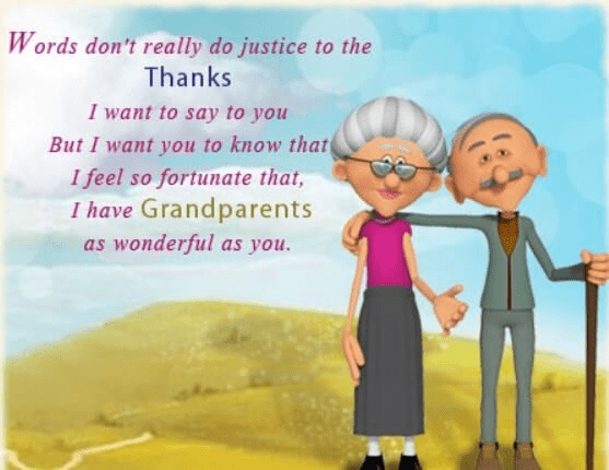 Happy Grandparents' Day Wishes png 5
