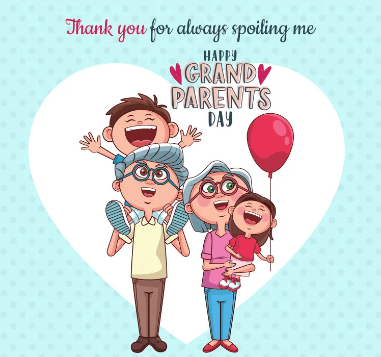 Happy Grandparents' Day Wishes png images
