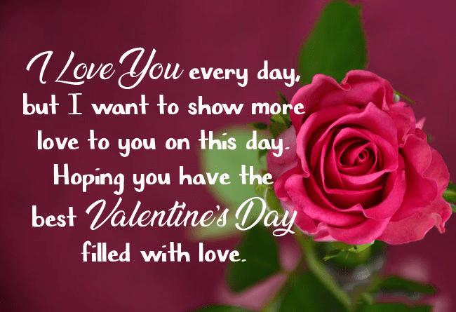 Happy Valentine's Day Wishes image 9