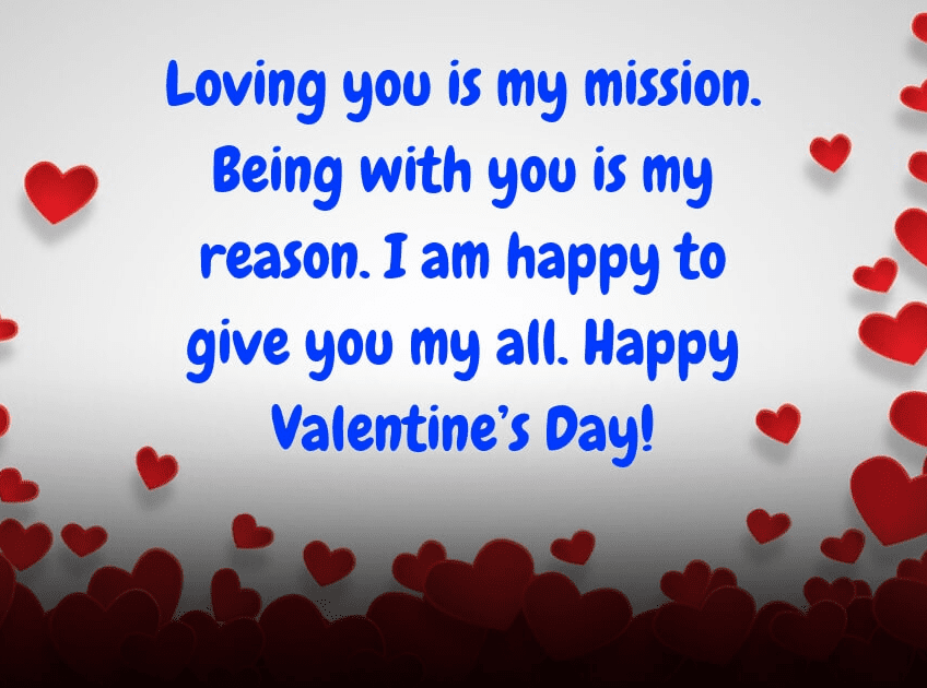 Happy Valentine's Day Wishes png 3