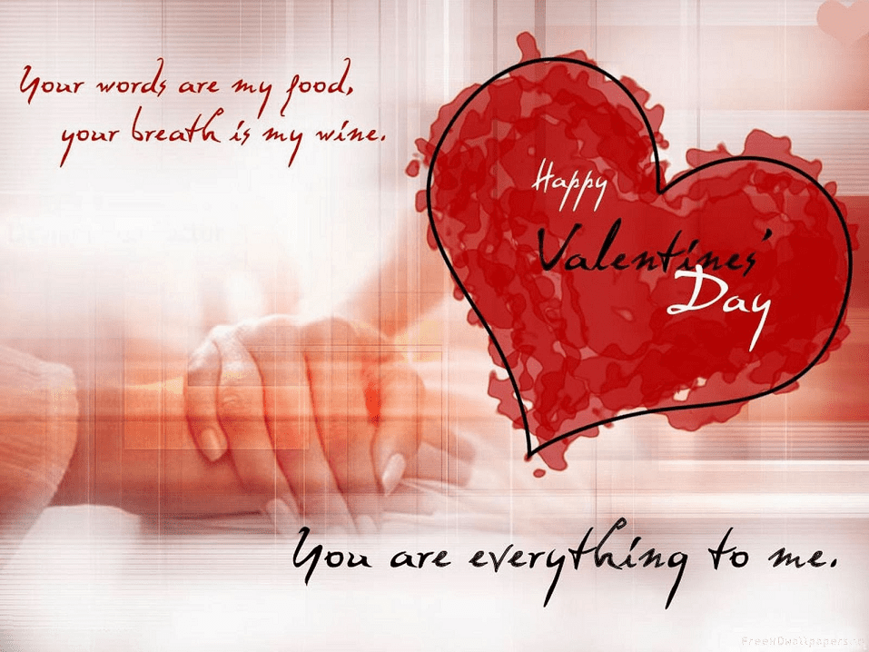 Happy Valentine's Day Wishes png 5