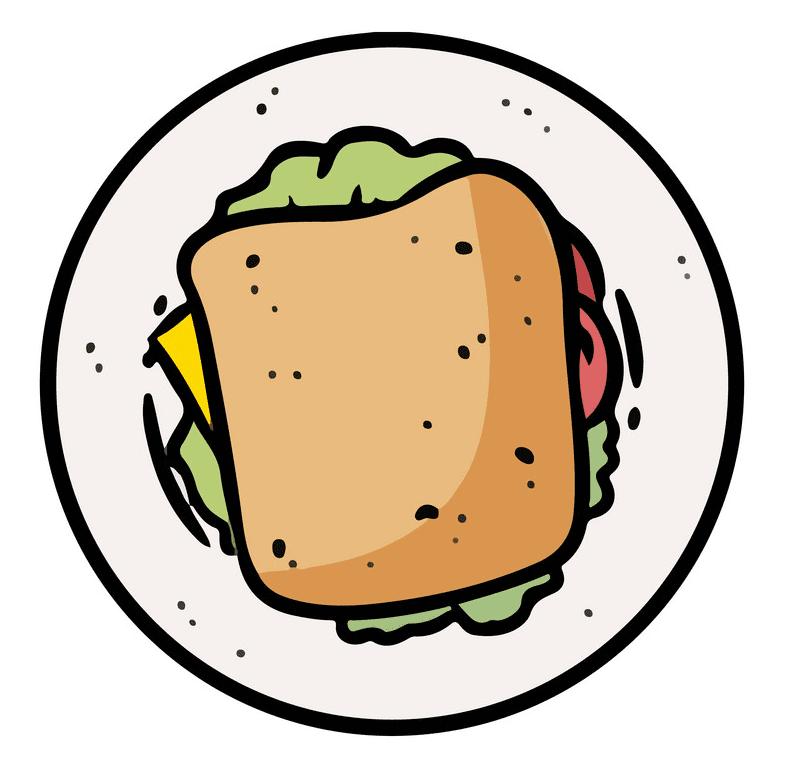 Icon Sandwich clipart