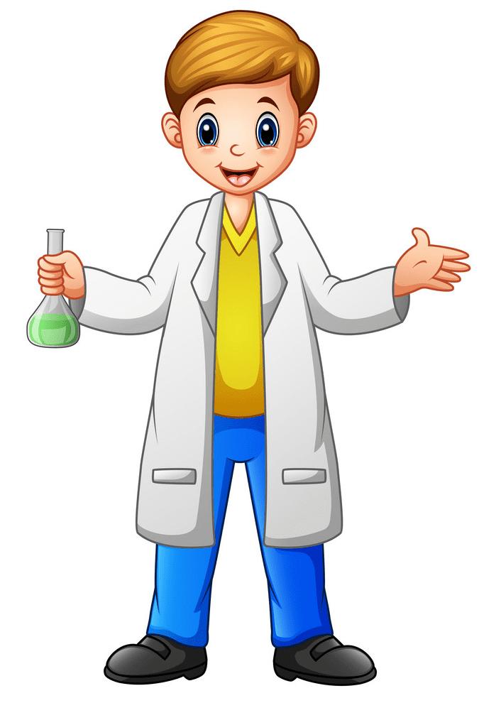Kid Scientist clipart download