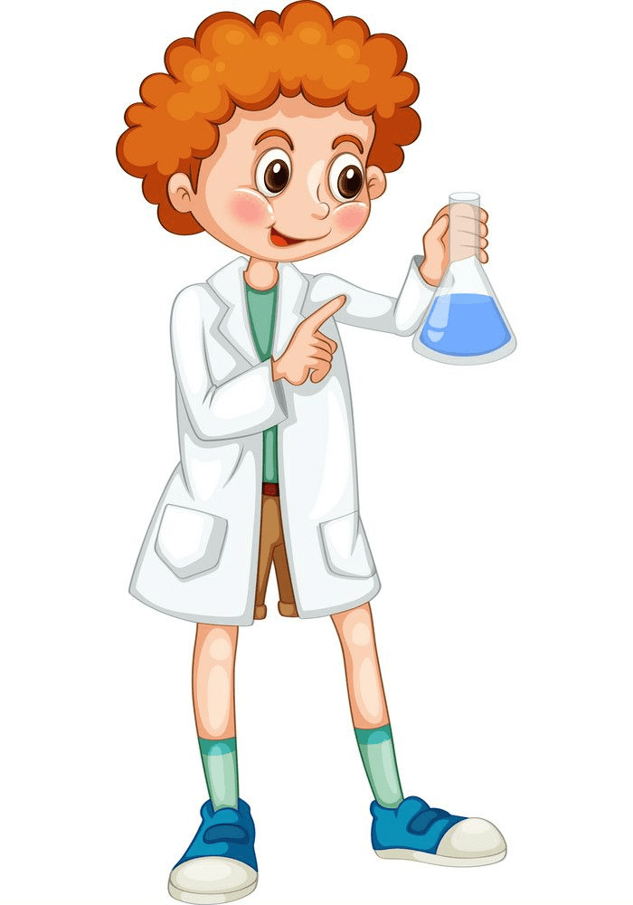 Kid Scientist clipart picture